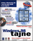 WINDOWS 98 - TAJNE + 4 CD-a - brian livingston, davis straub