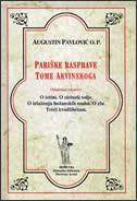 PARIŠKE RASPRAVE TOME AKVINSKOGA - augustin pavlović