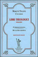 LIBRI THEOLOGICI - svezak prvi - marko tulije ciceron