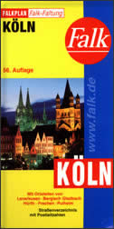 KOLN - Stadtplan  ( Leverkusen, Bergisch Gladbach ...)