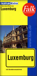 LUXEMBURG - Stadtplan