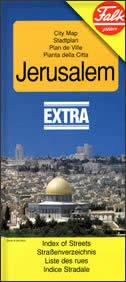 JERUSALEM - Stadtplan