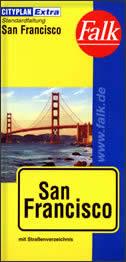 SAN FRANCISCO - Stadtplan