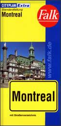 MONTREAL - Stadtplan