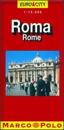ROMA Euro city - Stadtplan (1:15.000)