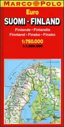 FINLAND - auto karta