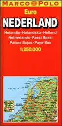 NEDERLAND - auto karta