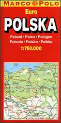 POLAND - auto karta