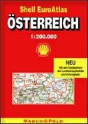 OSTERREICH - Euro auto atlas