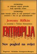 ENTROPIJA - novi pogled na svijet - jeremy rifkin, ted howard