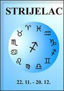 STRIJELAC - horoskop - elidija matjačić