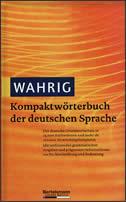 KOMPAKT - WORTERBUCH DER DEUTSCHEN SPRACHE - renate wahrig -burfeind