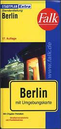 BERLIN - stadtplan (1:27 000)