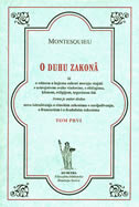 O DUHU ZAKONA - TOM PRVI -  montesquieu