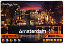 AMSTERDAM - multimedijalna razglednica / Greetings from Amsterdam