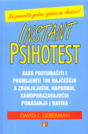 INSTANT PSIHOTEST - david j. lieberman