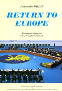 RETURN TO EUROPE - Foreign Policy in Post-Conflict Period - jadranko prlić