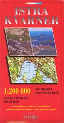 ISTRA / KVARNER - autokarta (1:200 000)