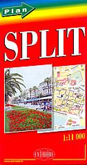 SPLIT - plan grada (1:11 000)