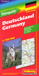 DEUTSCHLAND / GERMANY - strassenkarte / road map (1:700 000)