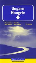 UNGARN / HONGRIE - strassenkarte / road map