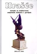 HRAŠĆE br.30/2006 - časopis za književnost, umjetnost, kulturu i povijest - marina (ur.) kalistović