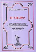BIT NIHILIZMA - emanuele severino