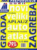 ZAGREB - Auto atlas (1:15 000)