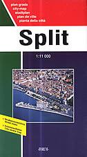 SPLIT - plan grada (1:11000)