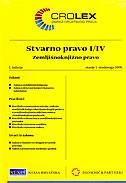 STVARNO PRAVO I/IV - Zemljišnoknjižno pravo - zinka (prir.) bulka