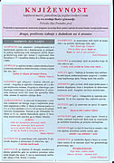KNJIŽEVNOST - književni nazivi, periodizacija, književni rodovi i vrste za sve srednje škole i gimnazije - ilija protuđer