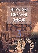 HRVATSKI DRŽAVNI SABOR 1848. sv. 3.