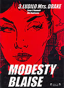MODESTY BLAISE 3 - LUDILO MRS. DRAKE - jim holdaway, peter o donnell