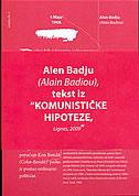 4. MAJA 1968. (TEKST IZ KOMUNISTIČKE HIPOTEZE) - alain badiou