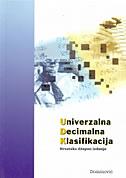 UNIVERZALNA DECIMALNA KLASIFIKACIJA - hrvatsko džepno izdanje - jadranka lasić-lazić