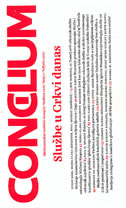 CONCILIUM 1/2010 - Službe u crkvi danas