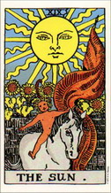 RIDER WAITE TAROT DECK (GIANT SIZE) - arthur edward waite, pamela colman smith