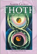 ALEISTER CROWLEY THOTH TAROT DECK - aleister crowley