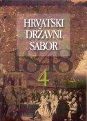 HRVATSKI DRŽAVNI SABOR 1848. svezak 4 - josip (ur.) kolanović