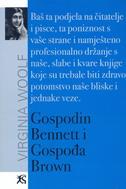 GOSPODIN BENNETT I GOSPOĐA BROWN - virginia woolf