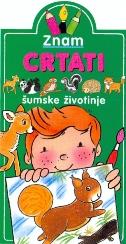 ZNAM CRTATI- Šumske životinje - jack delaroche