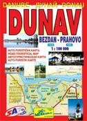 DUNAV (Auto-turistička karta za nautičare, istoričare, planinare, ribolovce i lovce)