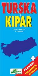 TURSKA I KIPAR (Auto-karta)