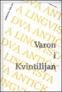 VARON I KVINTILIJAN - dubravko škiljan
