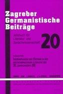 ZAGREBER GERMANISTICHE BEITRAEGE 2011 - marijan bobinac