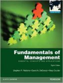 FUNDAMENTALS OF MANAGEMENT 8/E - stephen p. robbins, david a. decenzo, mary coulter