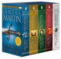 GAME OF THRONES 5-BOOK BOXED SET (George R. R. Martin Song of Ice and Fire Series) - george r.r. martin