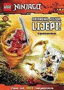 LEGO NINJAGO VJEŽBENICA - PRIPREMA, POZOR, LIJEPI! (više od 100 naljepnica)