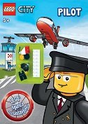 LEGO CITY - PILOT (plus figurica)-0