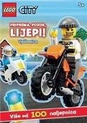 LEGO CITY VJEŽBENICA - PRIPREMA, POZOR, LIJEPI! (više od 100 naljepnica)